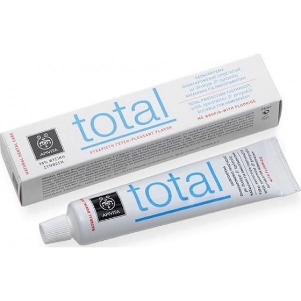 Apivita Total με πρόπολη & δυόσμο 75ml