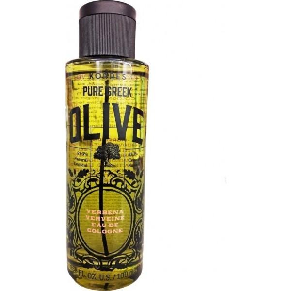 Korres Pure Greek Olive Verbena Eau de Cologne 100ml