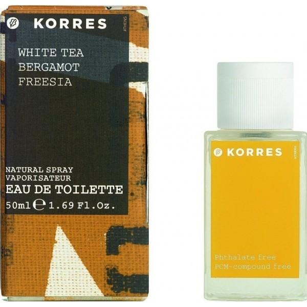 Korres White Tea Bergamot Freesia 50ml