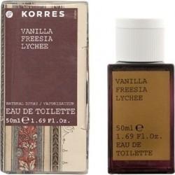 Korres Vanilla Freesia Lychee 50ml