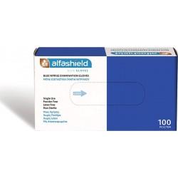Karabinis Medical Examination Γάντια Νιτριλίου Powder Free Μπλε 100τμχ