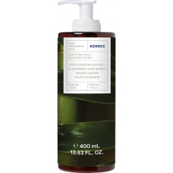 Korres Cleansing Hand Wash Aloe & Sea Salt Pump 400ml