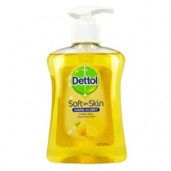 Dettol Odour Neutralizing Citrus Soft on Skin Hard on Dirt Liquid Hand Wash 250ml
