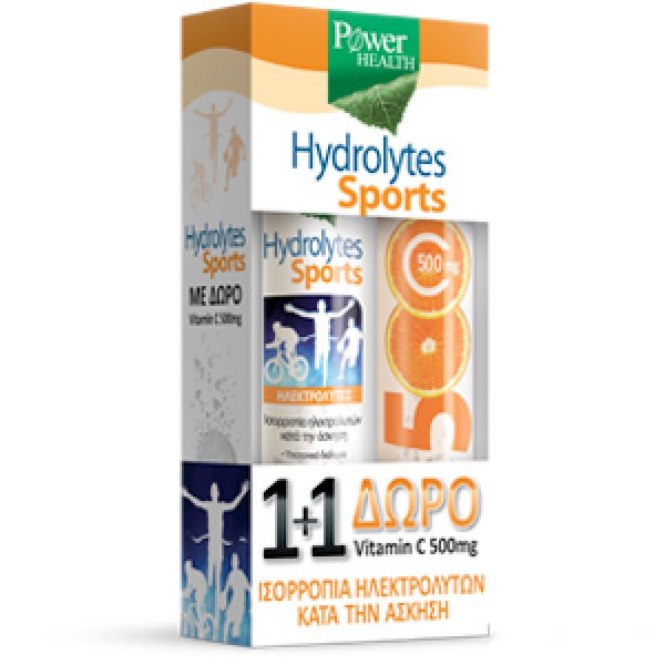 POWER HEALTH HYDROLYTES SPORT + VITAMIN C 500MG