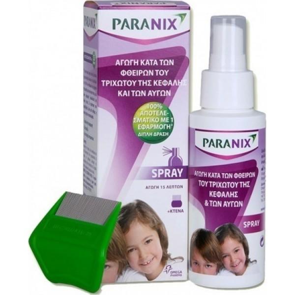 Paranix Spray 100ml + χτένα