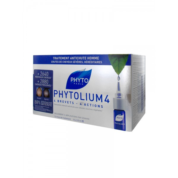 Phyto Phytolium 4 for Men 12x3.5 ml
